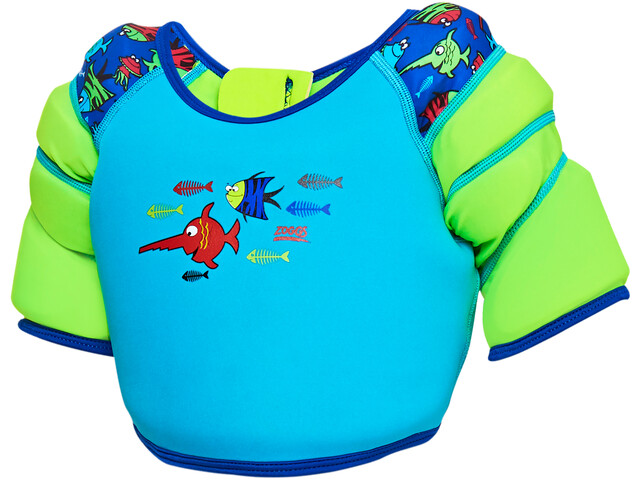 Zoggs Sea Saw Water Wing Vest Kids blue